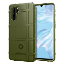 Huawei P30 Pro Ütésálló Tok Anti-Shock Series Rugged Shield -RMPACK- KatonaZöld