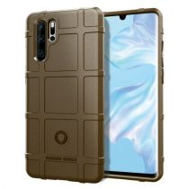 Huawei P30 Pro Ütésálló Tok Anti-Shock Series Rugged Shield -RMPACK- Barna