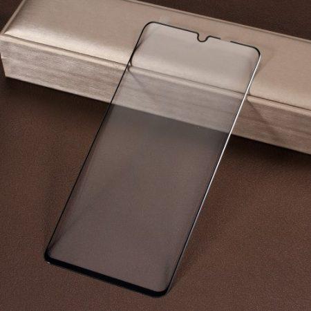 Huawei P30 Pro -FULL SIZE- 3D Tempered Glass Képernyővédő Üveg Fekete