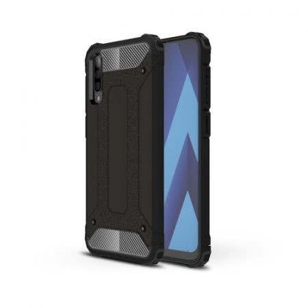 Samsung Galaxy A50 Ütésálló Armor Tok Guard Series 2in1 Fekete