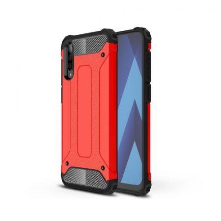 Samsung Galaxy A50 Ütésálló Armor Tok Guard Series 2in1 Piros