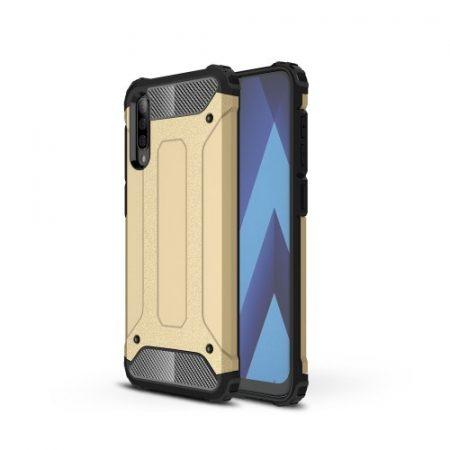Samsung Galaxy A50 Ütésálló Armor Tok Guard Series 2in1 Arany