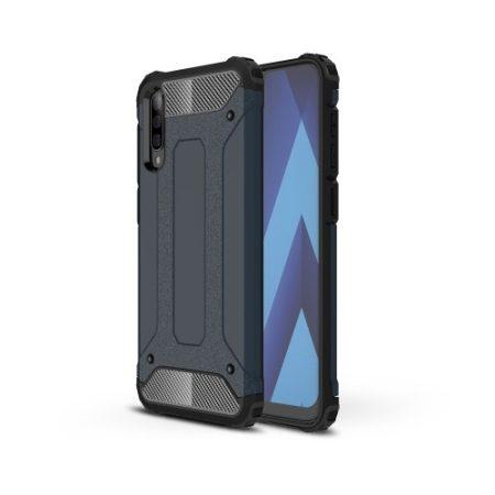 Samsung Galaxy A50 Ütésálló Armor Tok Guard Series 2in1 Sötétkék