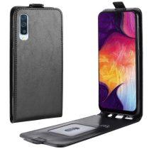 Samsung Galaxy A50 Flip Tok Mágneses Fekete