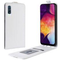 Samsung Galaxy A50 Flip Tok Mágneses Fehér