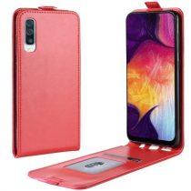 Samsung Galaxy A50 Flip Tok Mágneses Piros