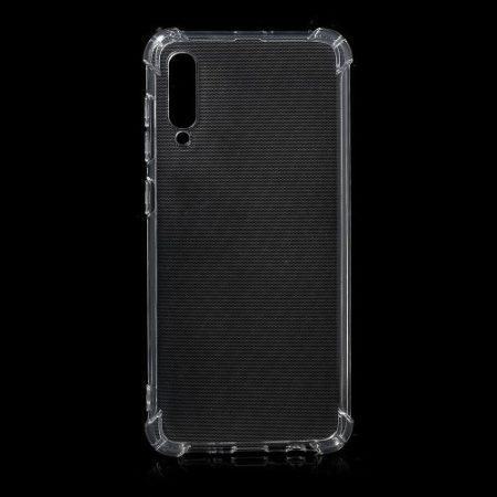 Samsung Galaxy A50 Ütésálló Szilikon Tok Shock TPU GEL Series Áttetsző