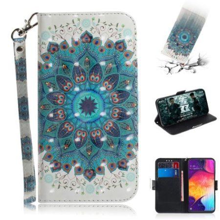 Samsung Galaxy A50 Tok Bankkártyatartóval Notesz Mintás Kitámasztható -RMPACK- SummerSeries SS03