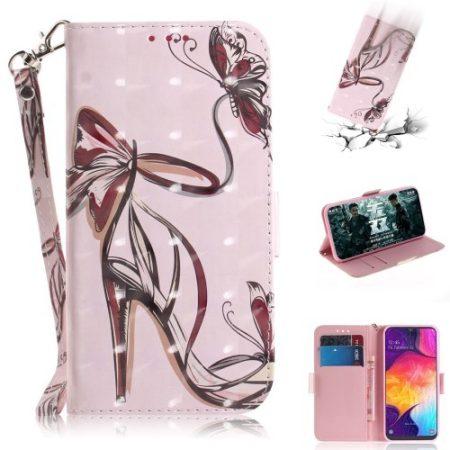 Samsung Galaxy A50 Tok Bankkártyatartóval Notesz Mintás Kitámasztható -RMPACK- SummerSeries SS06