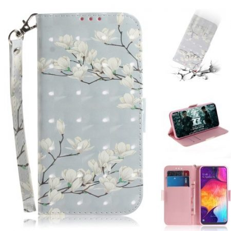 Samsung Galaxy A50 Tok Bankkártyatartóval Notesz Mintás Kitámasztható -RMPACK- SummerSeries SS08
