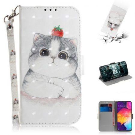 Samsung Galaxy A50 Tok Bankkártyatartóval Notesz Mintás Kitámasztható -RMPACK- SummerSeries SS12