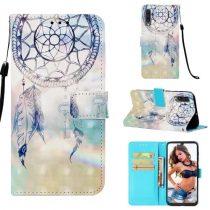 Samsung Galaxy A50 Tok Bankkártyatartóval Notesz Mintás Kitámasztható -RMPACK- Life&Dreams LD02
