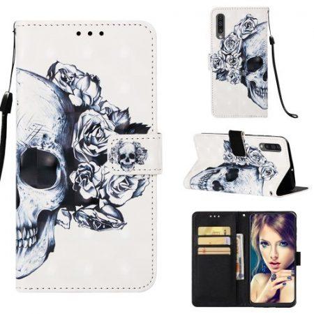 Samsung Galaxy A50 Tok Bankkártyatartóval Notesz Mintás Kitámasztható -RMPACK- Life&Dreams LD07