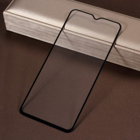 Samsung Galaxy A50 / A30 Kijelzővédő Üveg - Tempered Glass -FULL 3D- Fekete