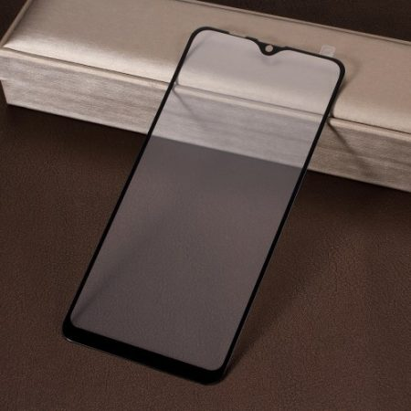 Samsung Galaxy M10 Képernyővédő Üveg - Tempered Glass - Full 3D - Fekete