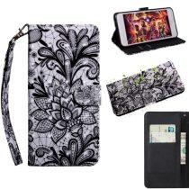 Samsung Galaxy A40 Tok Bankkártyatartóval Notesz Mintás Kitámasztható -RMPACK- SummerSeries SS01