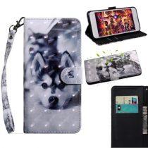 Samsung Galaxy A40 Tok Bankkártyatartóval Notesz Mintás Kitámasztható -RMPACK- SummerSeries SS02
