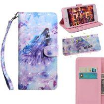 Samsung Galaxy A40 Tok Bankkártyatartóval Notesz Mintás Kitámasztható -RMPACK- SummerSeries SS03
