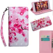 Samsung Galaxy A40 Tok Bankkártyatartóval Notesz Mintás Kitámasztható -RMPACK- SummerSeries SS04