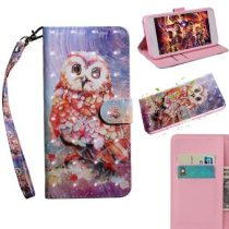 Samsung Galaxy A40 Tok Bankkártyatartóval Notesz Mintás Kitámasztható -RMPACK- SummerSeries SS05