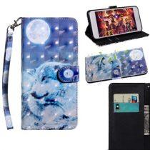 Samsung Galaxy A40 Tok Bankkártyatartóval Notesz Mintás Kitámasztható -RMPACK- SummerSeries SS06