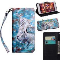 Samsung Galaxy A40 Tok Bankkártyatartóval Notesz Mintás Kitámasztható -RMPACK- SummerSeries SS08