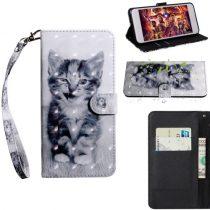 Samsung Galaxy A40 Tok Bankkártyatartóval Notesz Mintás Kitámasztható -RMPACK- SummerSeries SS09