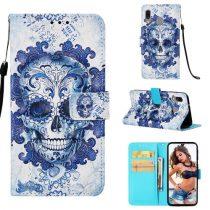 Samsung Galaxy A40 Tok Bankkártyatartóval Notesz Mintás Kitámasztható -RMPACK- Life&Dreams LD01
