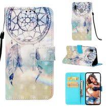Samsung Galaxy A40 Tok Bankkártyatartóval Notesz Mintás Kitámasztható -RMPACK- Life&Dreams LD02