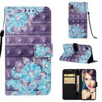 Samsung Galaxy A40 Tok Bankkártyatartóval Notesz Mintás Kitámasztható -RMPACK- Life&Dreams LD06
