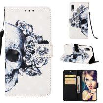 Samsung Galaxy A40 Tok Bankkártyatartóval Notesz Mintás Kitámasztható -RMPACK- Life&Dreams LD07