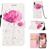 Samsung Galaxy A40 Tok Bankkártyatartóval Notesz Mintás Kitámasztható -RMPACK- Life&Dreams LD12