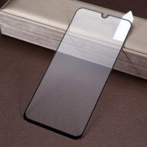 Samsung Galaxy A40 Tempered Glass Kijelzővédő Üveg - FULL SIZE- 3D Fekete