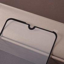 Huawei Y7 (2019) Tempered Glass - Képernyővédő Üveg -Full Size- Fekete