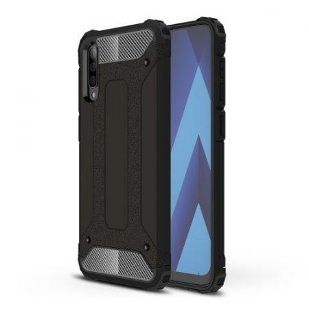 Samsung Galaxy A70 Ütésálló Armor Tok Guard Series 2in1 Fekete