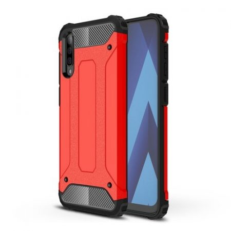 Samsung Galaxy A70 Ütésálló Armor Tok Guard Series 2in1 Piros
