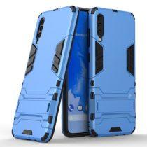 Samsung Galaxy A70 2in1 Tok Ütésálló - Kitámasztható TPU Hybrid Világoskék