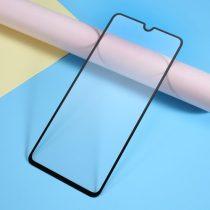 Samsung Galaxy A70 Tempered Glass - Kijelzővédő Üveg - Full Size- 9D Fekete