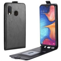 Samsung Galaxy A20e Flip Tok Mágneses Fekete