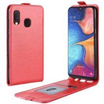 Samsung Galaxy A20e Flip Tok Mágneses Piros