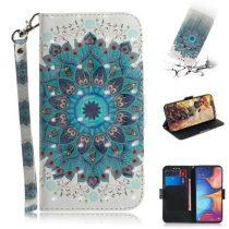 Samsung Galaxy A20e Tok Bankkártyatartóval Notesz Mintás Kitámasztható -RMPACK- SummerSeries SS03