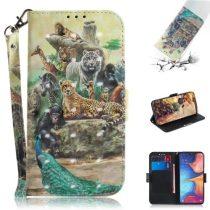 Samsung Galaxy A20e Tok Bankkártyatartóval Notesz Mintás Kitámasztható -RMPACK- SummerSeries SS04