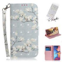 Samsung Galaxy A20e Tok Bankkártyatartóval Notesz Mintás Kitámasztható -RMPACK- SummerSeries SS08