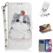 Samsung Galaxy A20e Tok Bankkártyatartóval Notesz Mintás Kitámasztható -RMPACK- SummerSeries SS10