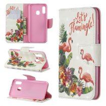 Samsung Galaxy A20e Tok Bankkártyatartóval Notesz Mintás Kitámasztható -RMPACK- Life&Dreams LD01