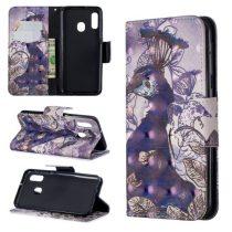 Samsung Galaxy A20e Tok Bankkártyatartóval Notesz Mintás Kitámasztható -RMPACK- Life&Dreams LD04