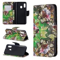 Samsung Galaxy A20e Tok Bankkártyatartóval Notesz Mintás Kitámasztható -RMPACK- Life&Dreams LD05