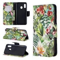 Samsung Galaxy A20e Tok Bankkártyatartóval Notesz Mintás Kitámasztható -RMPACK- Life&Dreams LD06