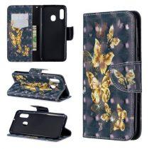 Samsung Galaxy A20e Tok Bankkártyatartóval Notesz Mintás Kitámasztható -RMPACK- Life&Dreams LD07