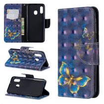 Samsung Galaxy A20e Tok Bankkártyatartóval Notesz Mintás Kitámasztható -RMPACK- Life&Dreams LD08